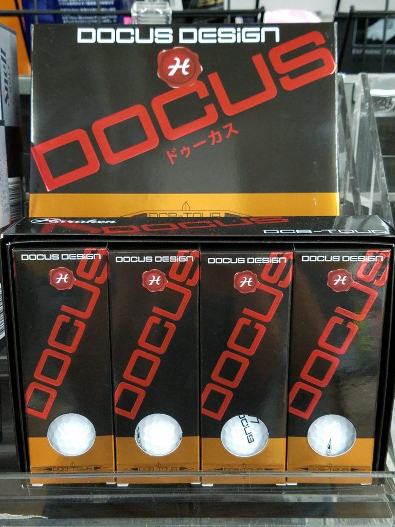 DOCUS ドゥーカス取り扱い開始 ゴルフボール