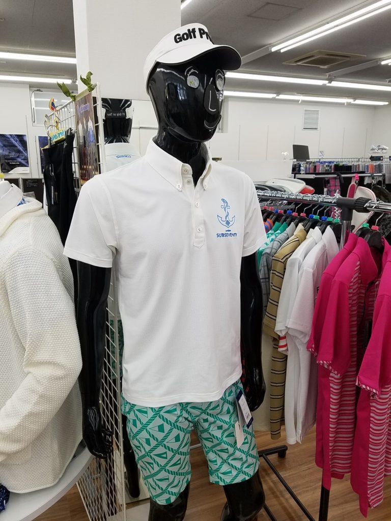 サブセブンティ ゴルフウェア メンズ ポロシャツ